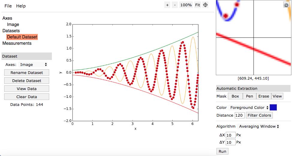 ابزار استخراج اعداد از نمودار